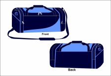 CS Team Holdall Medium (Navy Sky White) Medium