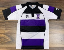 CS Kilrush RFC Jersey (Black White Purple) 7-8