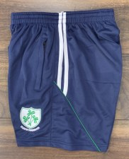 CS Kilrush Shamrocks Zip Pocket Training Shorts (Navy white Green) 3-4