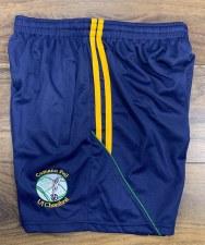 CS O Currys Training Zip Pocket Shorts (navy Amber Green) 3-4