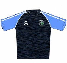 CS St Marys Athletic Club Tee (Navy Melange Sky White) 5-6