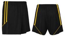 CS Club Training Zip Pocket Short (Black Amber) 5-6