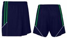 CS Club Training Zip Pocket Short (Navy Green Amber) 3-4
