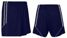 CS Club Training Zip Pocket Short (Navy Melange Grey) 3-4