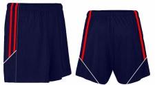 CS Club Training Zip Pocket Short (Navy Red White) 3-4