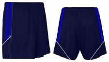 CS Club Training Zip Pocket Short (Navy Royal White) 3-4
