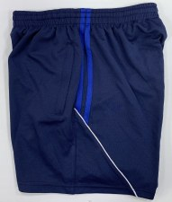 CS Club Training Zip Pocket Short (Navy Royal White) 3-4