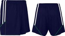 CS Club Training Zip Pocket Short (Navy White Green) 3-4