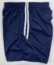CS Club Training Zip Pocket Short (Navy White Green) 3-4