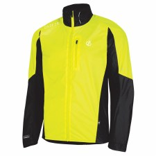 Dare2b Mediant Jacket Mens (Flo Yellow Black) Small