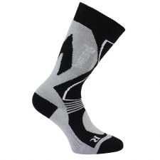 Dare2b Construct Ladies Ski Sock (Black Grey) 3-5