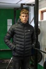 Diesel Sport Camden Puffer Jacket (Black) Medium