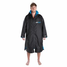 Dryrobe Advanced long Sleeve  Adults (Black Blue) Large