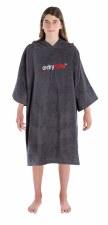Dryrobe Organic Cotton dryrobe Junior (Slate Grey) 5-9 Years
