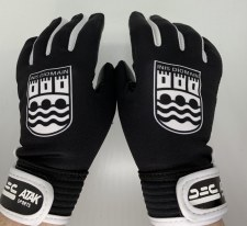 Atak Ennistymon Gaelic Gloves (Black White) 5-6