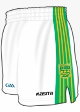Masita Ennistymon Hurling Club Shorts (White Green Amber) 24