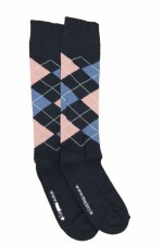 Equisential Original Socks (Navy Pink Blue) Uk 12 - 3