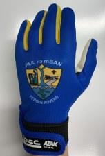 Atak Fergus Rovers Ladies GAA Gaelic Gloves (Royal Amber) 5-6