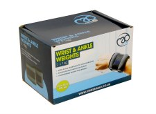 Fitness Mad Ankle Wrist Weights Pair 2 x 1kg