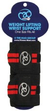 Fitness Mad Weight Lifting Wrist Supports (Various Colours) OSFA