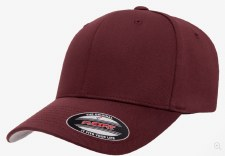 Flexfit® Wolly Combed Hat (Maroon) S-M