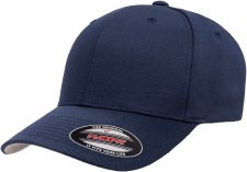 Flexfit® Wolly Combed Hat (Navy) Small - Medium