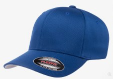 Flexfit® Wolly Combed Hat (Royal) S-M