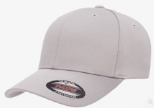 Flexfit® Wolly Combed Hat (Silver) S-M