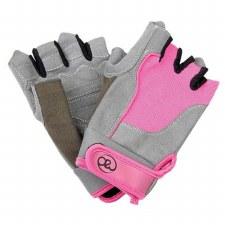 Fitness Mad Womens Cross Training Glove (Grey Pink) M