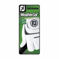 Footjoy Weathersof Mens Left Hand (White Black) Small