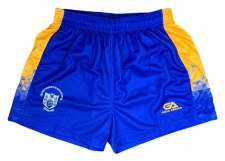 Gaelic Armour Clare Ladies Home Shorts (Royal Amber) 5-6
