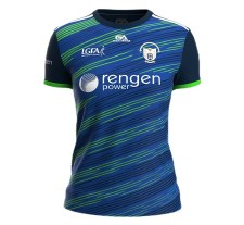 Gaelic Armour Clare Ladies Training Jersey (Navy Lime) 5-6