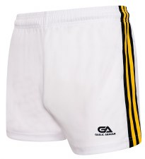 Gaelic Armour Gaelic Shorts (White Black Amber) 5-6