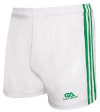 Gaelic Armour Gaelic Shorts (White Green) 5-6