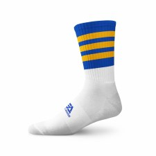 Gaelic Armour Elite Midi Sock (White Royal Amber) 3-5
