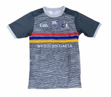 Gaelic Armour Western Gaels Jersey (Melange Grey Red Blue Yellow) Age 7-8