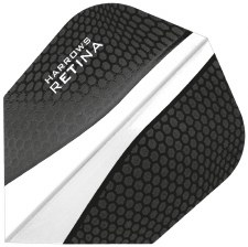 Harrows Retina Flights (Black Clear)