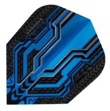 Harrows Plexus Flights (Charcoal Blue)