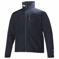 Helly Hansen Crew Midlayer Jacket Mens (Navy) Medium