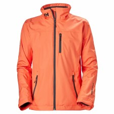 Helly Hansen Womens Crew Midlayer (Fire Cracker) Small