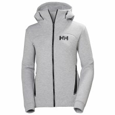 Helly Hansen Womens HP Ocean SWT Jacket (Grey) Large