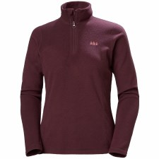 Helly Hansen Womens Daybreaker 1/2 Zip (Burgundy) Small