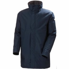 Helly Hansen Dubliner Insulated Long Jacket (Navy) Large