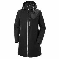Helly Hansen Womens Long Belfast Jacket (Black) Small