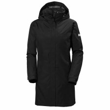 Helly Hansen Womens Aden Insulated Coat (Black) Small