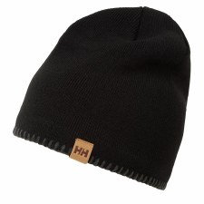 Helly Hansen Mountain Beanie Fleece (Black) One Size Fits All