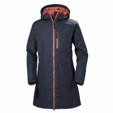 Helly Hansen W Long Belfast Winter Jacket Graphite Small