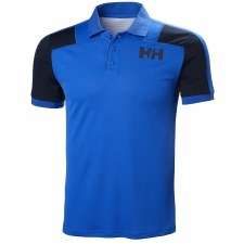 Helly Hansen Lifa Active Light Short Sleeve Polo (Blue Navy) Medium
