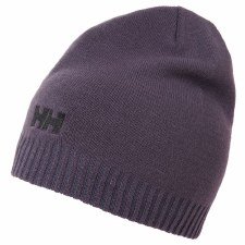 Helly Hansen Brand Logo Beanie Adults OSFA (Grape)