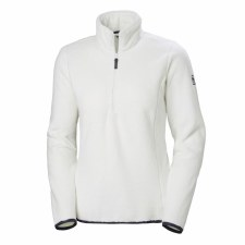 Helly Hanse W Feather Pile 3/4 Zip White Large
